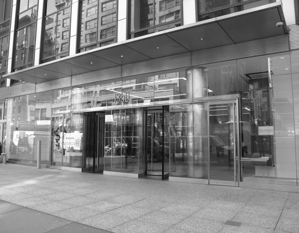 Building Entrance BW